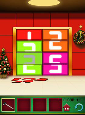 100 Floors Level 11 Christmas